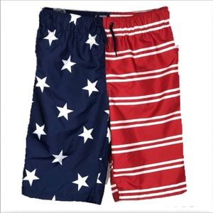 🆕 Patriotic Swim Trunks
